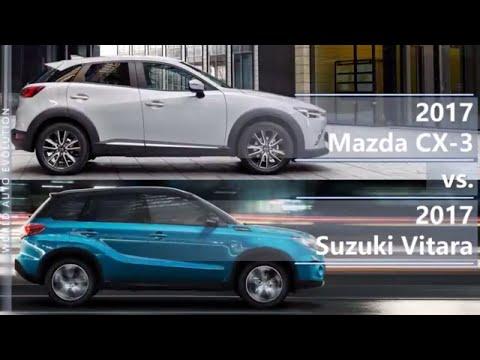 2017 Mazda CX-3 vs 2017 Suzuki Vitara (technical comparison)