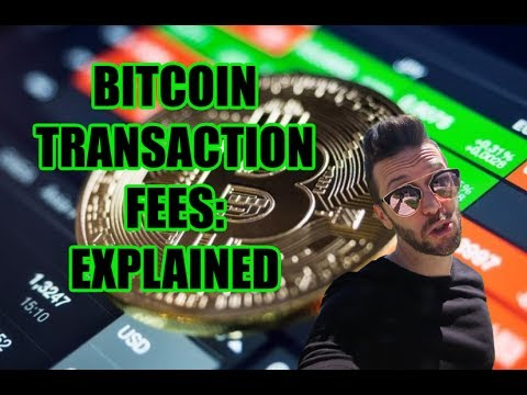 Bitcoin Transaction Fees Explained