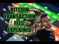 Bitcoin transaction fees EXPLAINED! Why are they so high ...