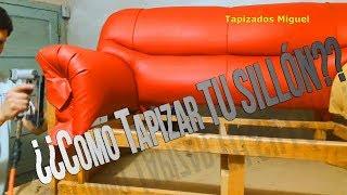 TAPIZADO DE SILLON