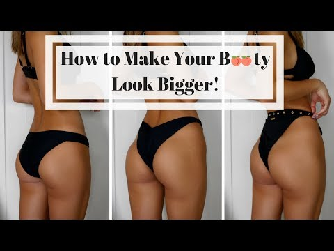 176f17a3ee1 HOW TO MAKE YOUR BUTT LOOK BIGGER! FAST & EASY BIKINI HACKS - YouTube