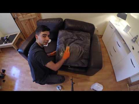 How to Clean Leather Sofa Suites & Leather Car Seats