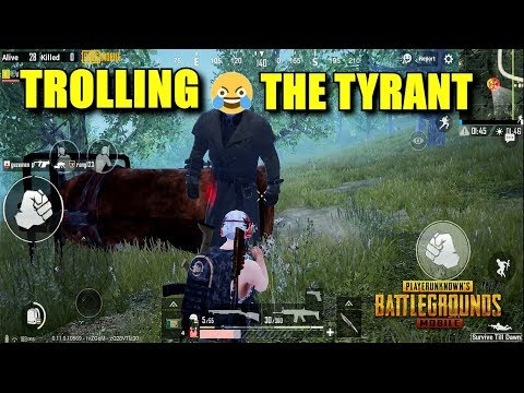 TROLLING THE TYRANT BOSS I PUBG Mobile X Resident Evil 2 (Android) HD