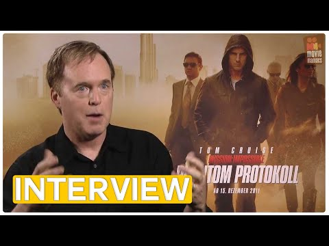 Mission Impossible 4 | Brad Bird EXCLUSIVE Interview (2011)