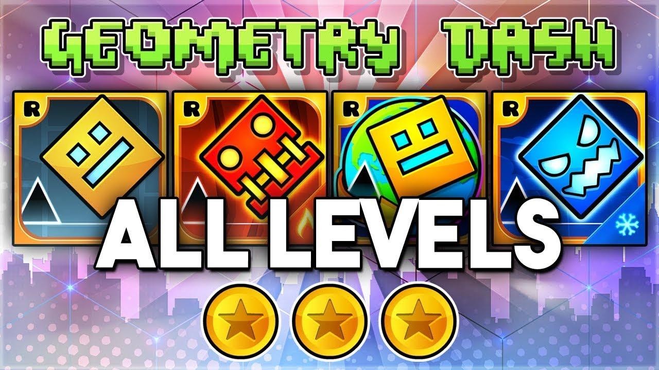 All Levels Geometry Dash 2 11 Meltdown World Su