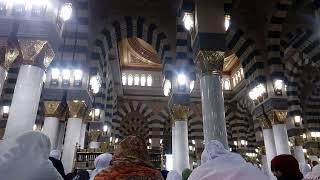adzan subuh di masjid nabawi