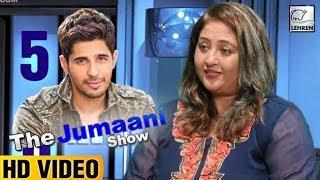 Siddharth Malhotra's Prediction For Aiyaary | The Jumaani Show | Lehren Originals