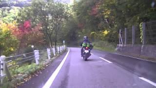 10月3日 悦ちゃんの初志賀を後ろから・・・ バイク歴短い割には、まあま...