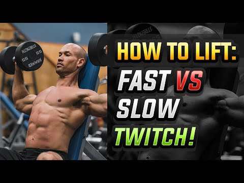 Fast Twitch Vs Slow Twitch - Muscle Fiber Specific Training | Should You Do This, And Why?