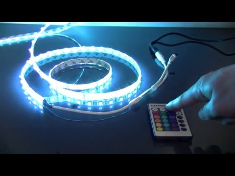 Режимы работы контроллера для светодиодной ленты в наборе Set Led Strip 5050 5m 12V RGB