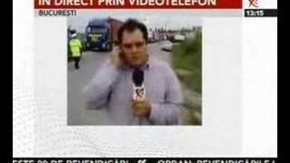 A doua zi de proteste a transportatorilor