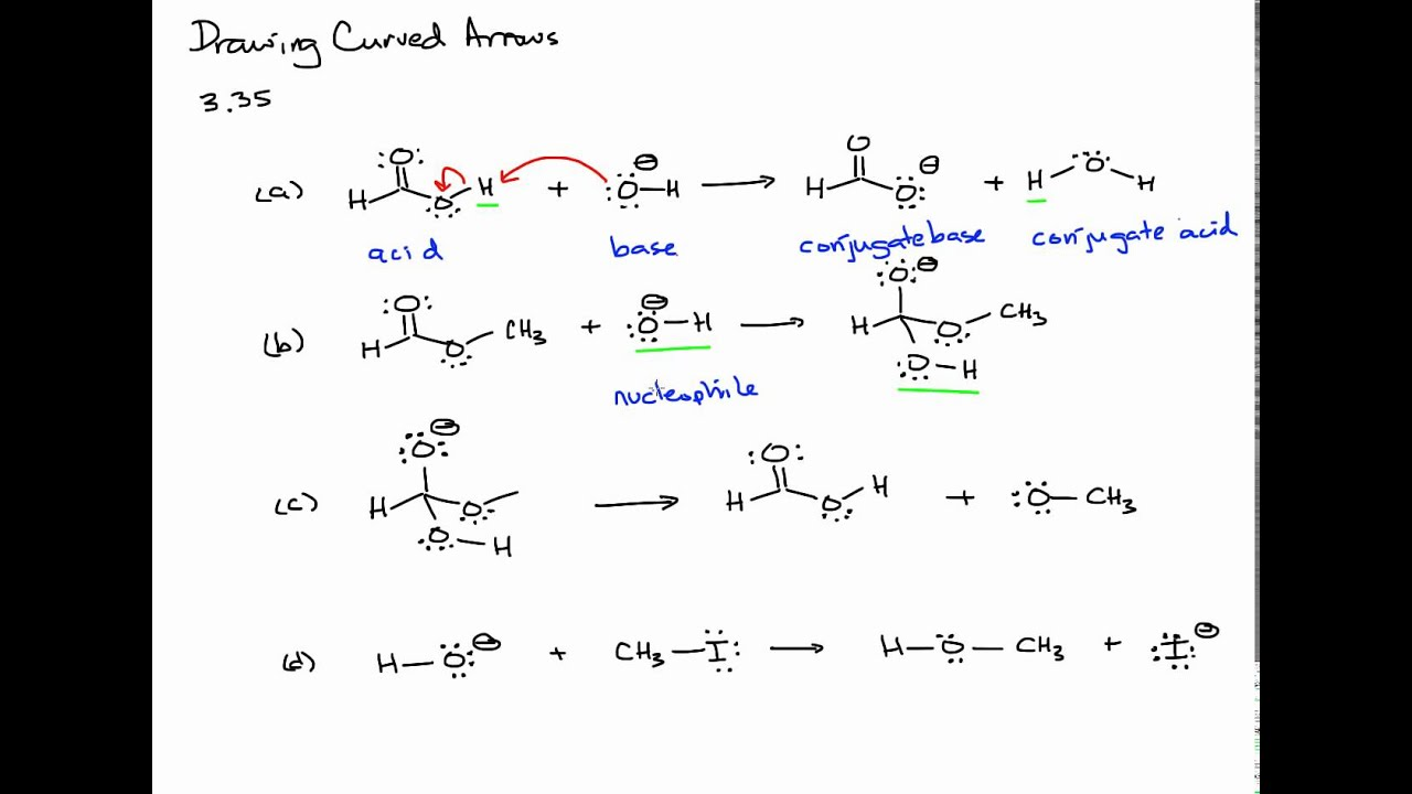 Introduction to the Curved Arrow Pushing Formalism in Organic Chemistry