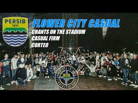 Flower City Casual Persib in Action 2017
