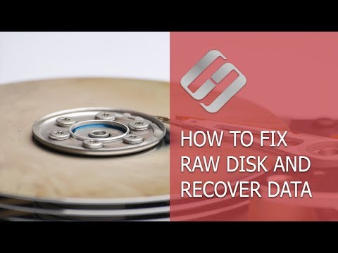 How to Fix a RAW Disk in 2018 and Recover Data from an HDD with RAW Partitions💻⚕️🛠️