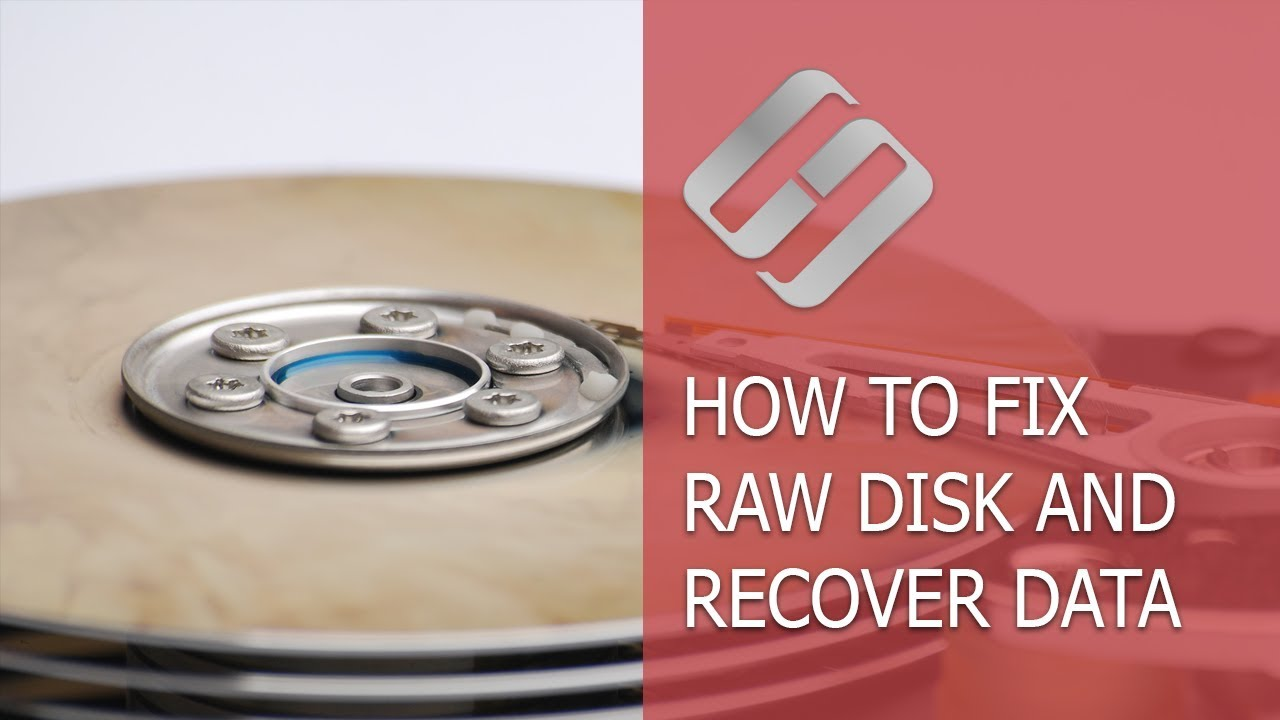 raw external hard drive recovery