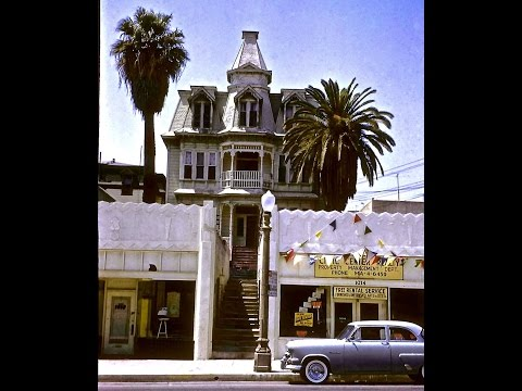 Temple urban renewal project 1963 Los Angeles  V