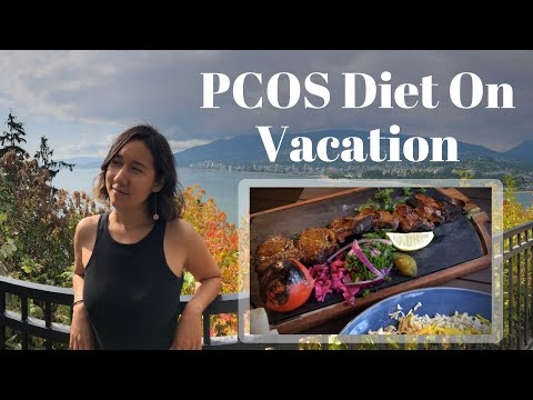 What I Eat in a Day on Vacation: Healthy PCOS Diet thumbnail