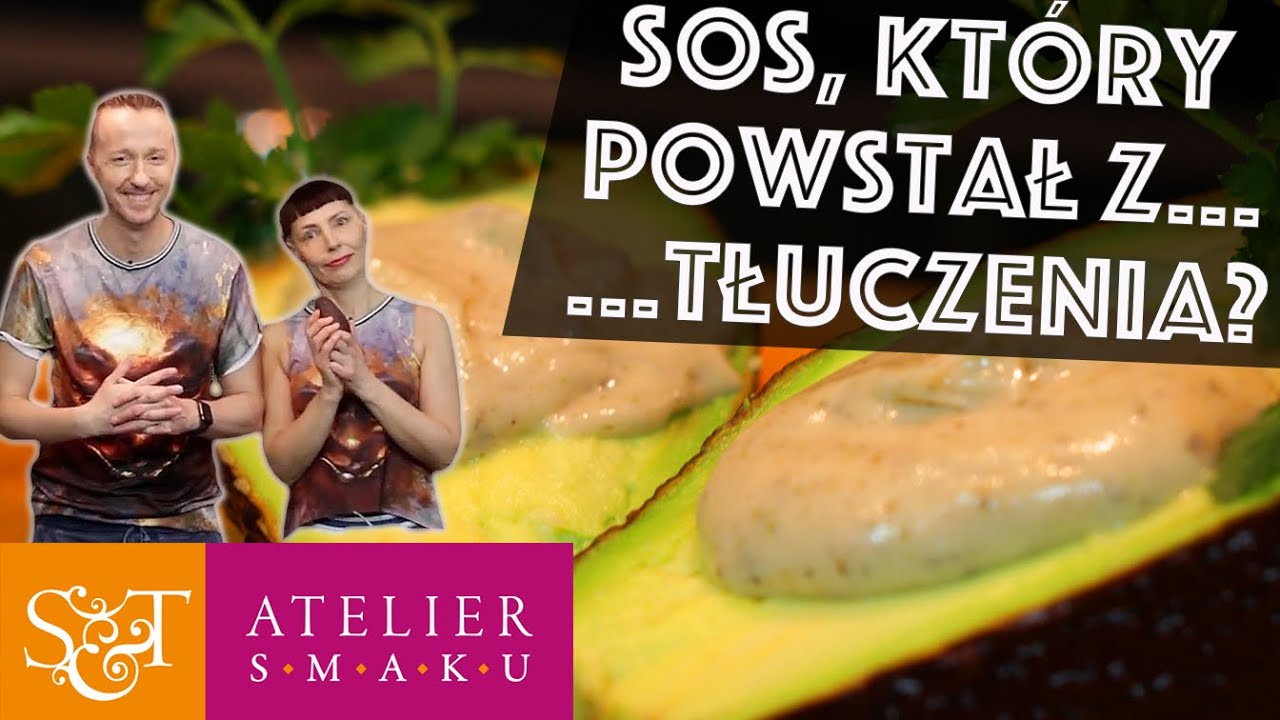 281 Sos Majonezowo Ziołowy Bezglutenowa Kuchnia Wegańska Atelier Smaku
