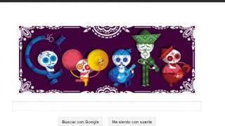 Day of the Dead  (Spanish: Día de los Muertos) Mexiko Google Doodle 2012