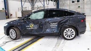 2020 Tesla Model X Crash Test Safest SUV
