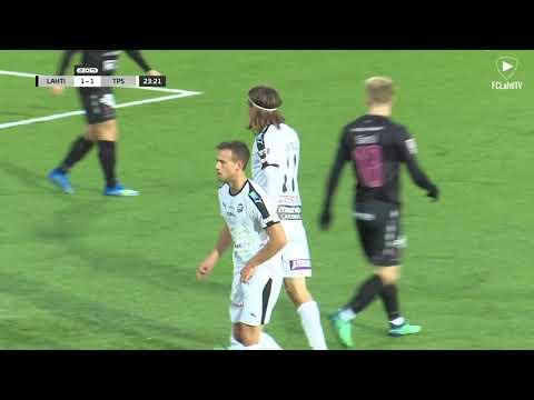 FCLahtiTV: Karjala ottelukooste: FC Lahti - TPS 2-5 (1-4) 30.9.2018