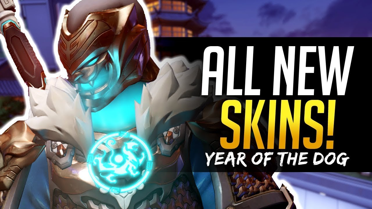 overwatch year of the dog new skins