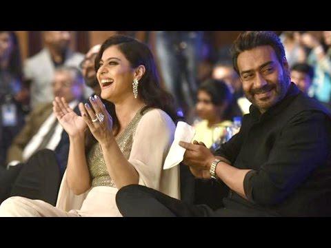 HT Most Stylish Awards:Ajay Devgn and Kajol Avoid Rani Mukerji when she was been awarded | SpotboyE