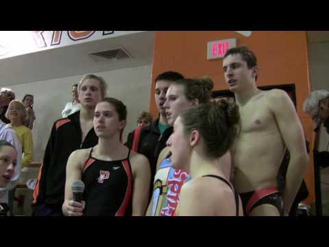 Pennsbury swim team national anthem.mpg