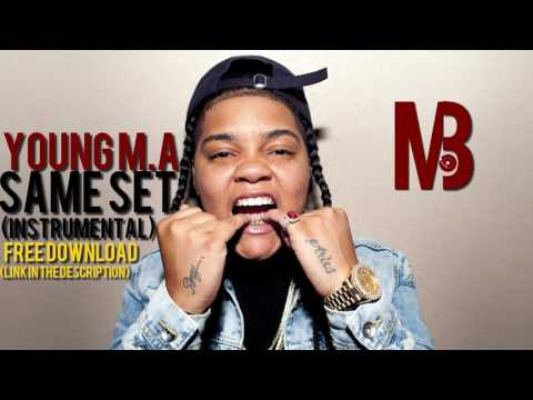 YOUNG M.A - Same Set (instrumental) FREE DOWNLOAD [BASS BOOSTED]
