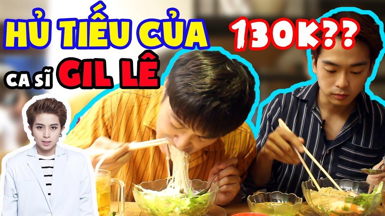 Phản ứng người Hàn khi ăn hủ tiếu của ca sĩ Gil Lê ???