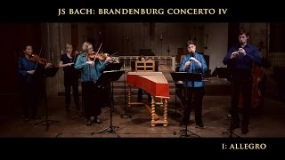 Bach - Brandenburg Concerto No. 4 in G Major BWV 1049, Voices of Music, original instruments