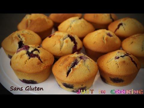 recette-de-petits-gâteaux-sans-gluten-myrtille-citron