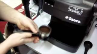 видео Ремонт кофемашин Philips Saeco Aroma Compact SE 200