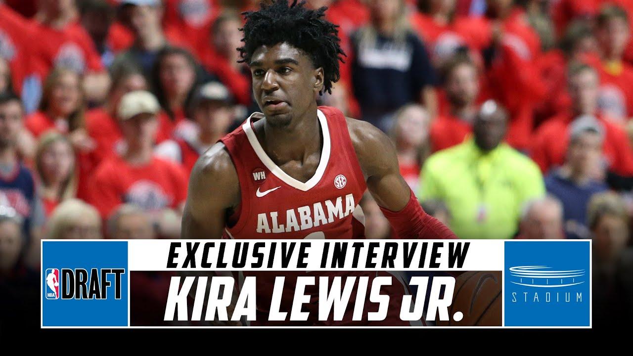 Kira Lewis Jr. Discusses His Final Season of College and NBA Draft Prep With Jeff Goodman | Stadium