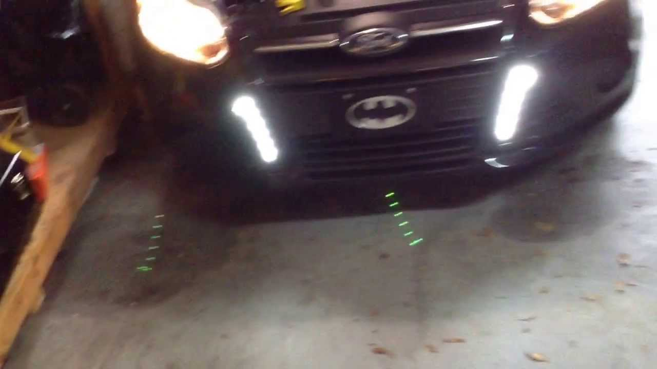 2013 Ford Focus DRL Install - YouTube