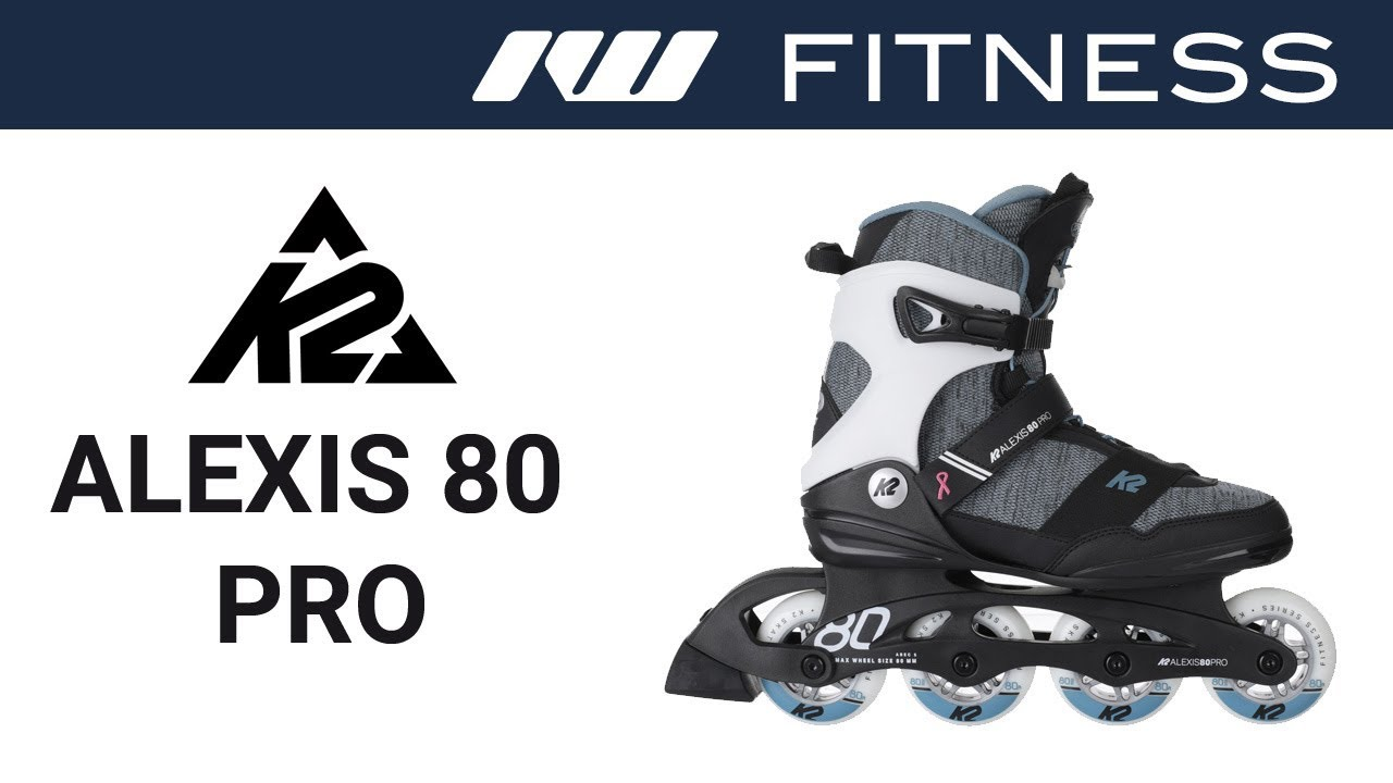 23d81f6dbff0ab K2 Alexis 80 Pro Skates for Women 2019 - YouTube