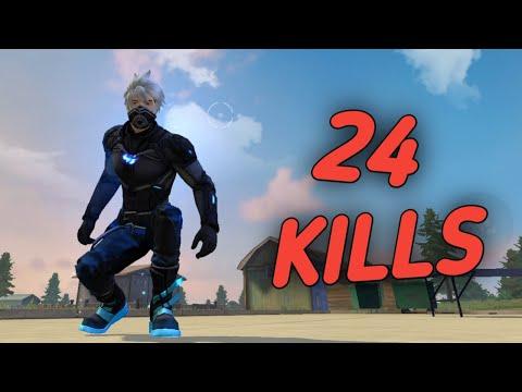 SOLO VS SQUAD || Pro Lobby || 24 KILLS || Double AWM Gameplay 🔥 !!!!
