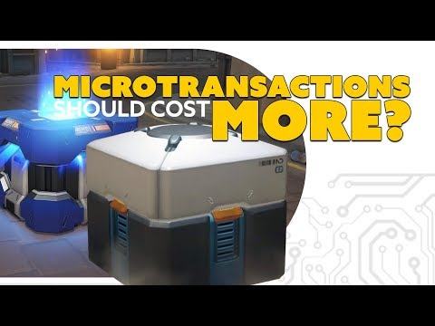 Gamers Should Pay MORE MICROTRANSACTIONS!? and be happy about it? - The Know Game News