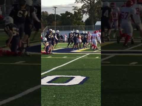 clawson middle school touchdown
