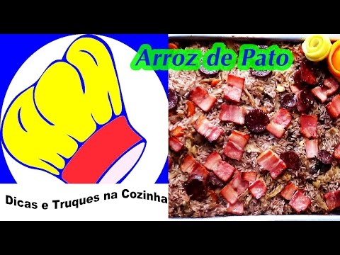 receita arroz de pato no forno á antiga - YouTube