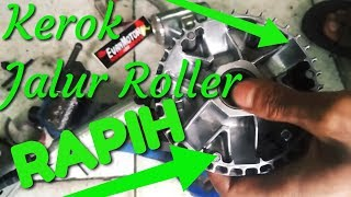 Kerok Rumah Roller Beat Fi-Rapih,Roller awet ,Menambah tenaga Pada motor