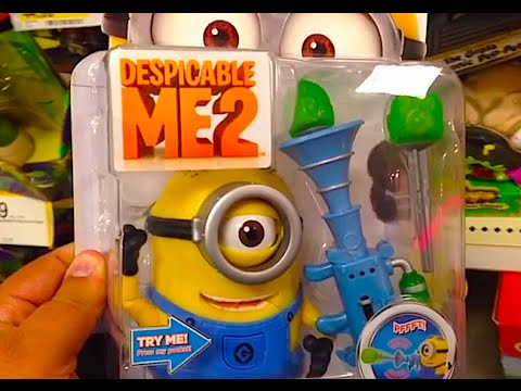 Despicable Me 2 Stuart With Fart Dart Launcher Deluxe