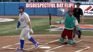 2 Home Runs in a Row! Disrespectful Bat Flip! MLB The Show 18 Diamond Dynasty Battle Royale Gameplay