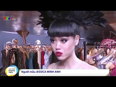 VTV1: Siêu mẫu Jessica Minh Anh toả sáng với thành công của J AUTUMN FASHION SHOW 2015 tại Pháp