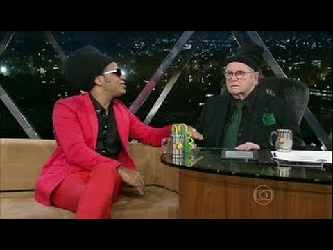 Jô Soares e Carlinhos Brown apronta todas no programa do Jô