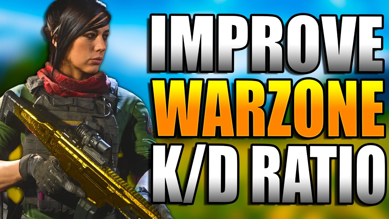 IMPROVE KD in WARZONE! Get BETTER at WARZONE! Warzone Tips! (Warzone Training)