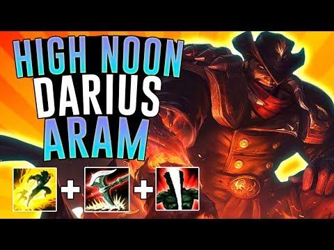 HIGH NOON DARIUS BRINGS THE PAIN!! - Darius ARAM - League of Legends