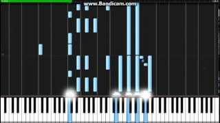 Shinsekai yori ED - Wareta Ringo - Synthesia (Piano) (TehIshter)