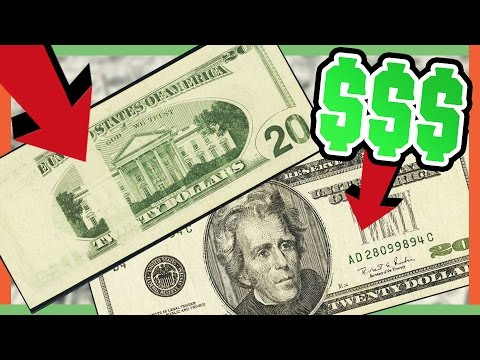 RARE 20 DOLLAR BILLS WORTH MONEY - VALUABLE ERROR NOTES!!