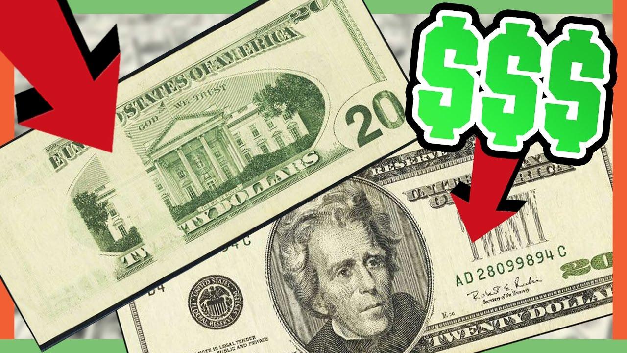 Rare 20 Dollar Bills Worth Money Valuable Error Notes